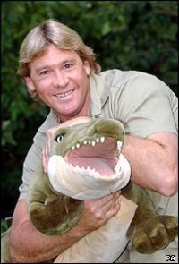 steve irwin; crocodile hunter