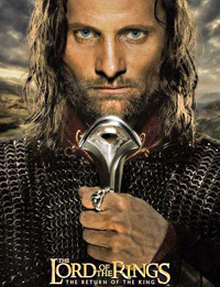 viggo mortenson; lord of the rings; return of the king
