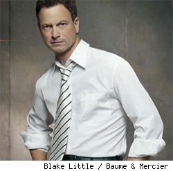 Gary Sinise for Baume & Mercier watches.