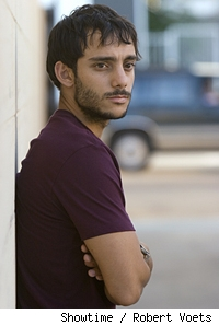 Omid Abtahi as Salim in 'Sleeper Cell.'