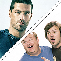 Matthew Fox and Tenacious D