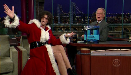 howard stern on letterman