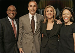 today; matt lauer; al roker; meredith vieira; ann curry