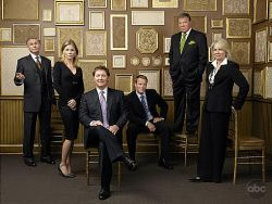 The cast of Boston Legal