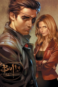 Buffy Comic Issue Two Cover