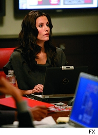 Courteney Cox as Lucy Spiller on 'Dirt.'
