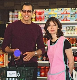 Illeanarama Illeana Douglas and Jeff Goldblum