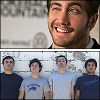 Jake Gyllenhaal and The Shins