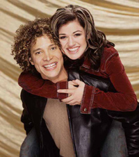 justin guarini; kelly clarkson