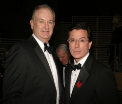 bill o'reilly; stephen colbert