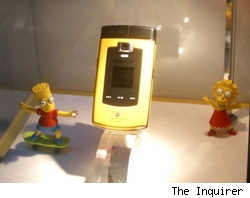 simpsons cell phone