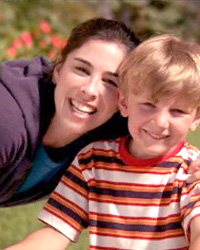 Sarah Silverman and kid
