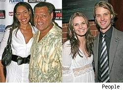 gina torrres; lawrence fishburne; jennifer morrison; jesse spencer