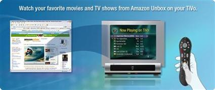 Amazon and TiVo Video Downloads