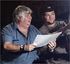 Bam Margera and Don Vito
