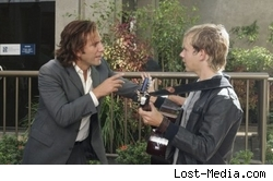 Henry Ian Cusick and Dominic Monaghan