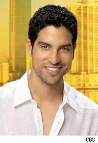 Adam Rodriguez as Delko on CSI: Miami.