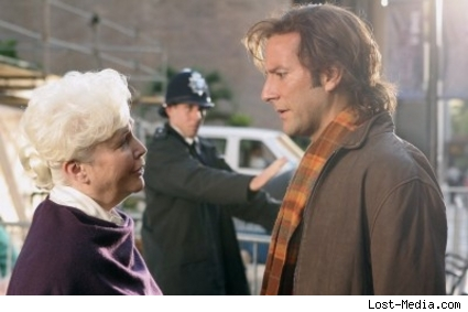 Henry Ian Cusick and Fionnula Flanagan