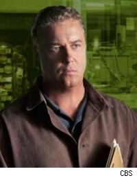 William Petersen as Gil Grissom.