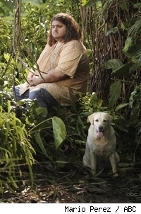 Hurley and Vincent, Lost