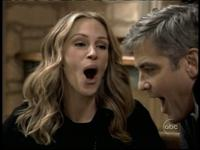 Julia Roberts seems to love some George Clooney
