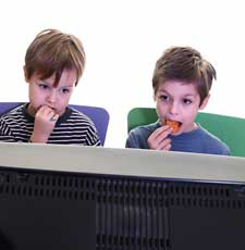 Television Kids Eating