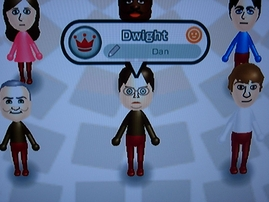 Nintendo Wii Mii The Office