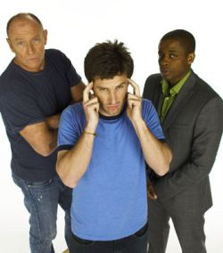 The cast of USA's Psych