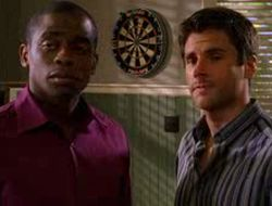James Roday and Dule Hill of Psych