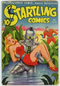 robot comic book