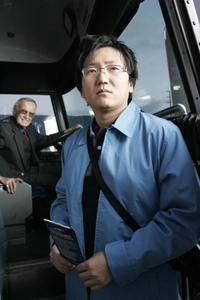Stan Lee and Masi Oka