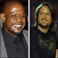 Forest Whitaker and Keith Urban