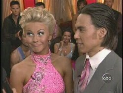 Apollo Ohno, Julianne Hough