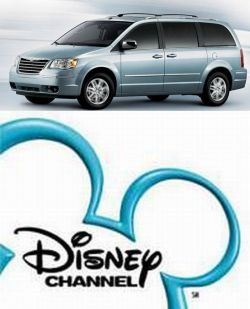 See the Disney Channel in Chrysler minivans