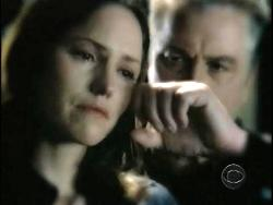 Sara and Grissom