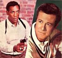 Bill Cosby and Robert Culp