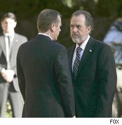 Jack Bauer and Charles Logan on 24