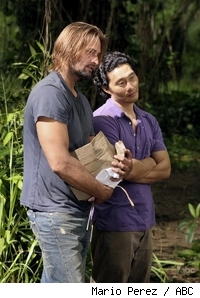 Daniel Dae Kim and Josh Holloway