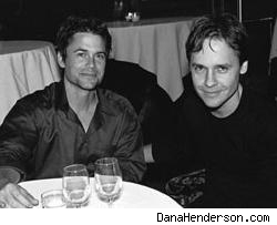 Rob and Chad Lowe