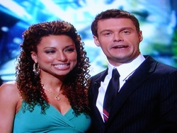 Sabrina Sloan and Ryan Seacrest
