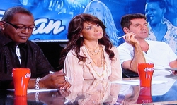 The Idol judges