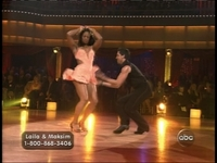 Laila Ali does a mean mambo on Dancing With The Stars