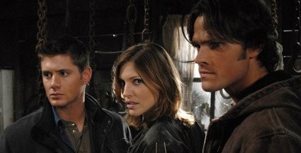 Jensen Ackles, Tricia Helfer, Jared Padalecki
