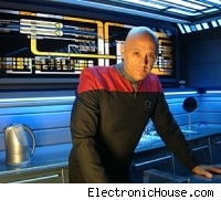 Tony Alleyne and his Voyager apartment