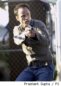 Walton Goggins as Det. Shane Vendrell on FX's The Shield.