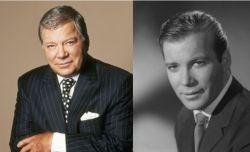Old Shatner pairs with young Shatner on Boston Legal