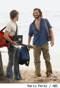Dominic Monaghan and Henry Ian Cusick