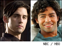 Heroes on NBC and Entourage on HBO
