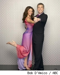 Tom Bergeron and Samantha Harris - Dancing With The Stars