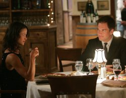 Michael Weatherly and Scottie Thompson